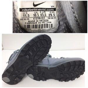Nike Shoes - Nike acg Manoa High-top Boot Sneaker Gray